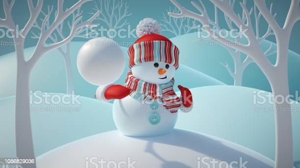 3d render cute funny snowman wearing red hat and scarf throwing in picture id1056829036?b=1&k=6&m=1056829036&s=612x612&h=jyf0 yducbelkhtlgclv1xv1hyv ihxhbejovlvhflu=