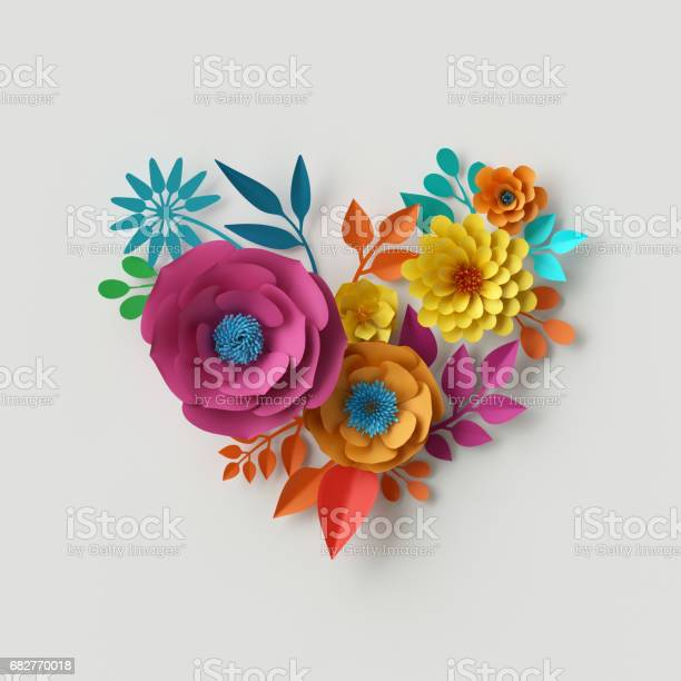3d render digital illustration abstract colorful paper flowers craft picture id682770018?b=1&k=6&m=682770018&s=612x612&h=ywygypi3oj2hnvabgy4iz7vt3upagw1pka2fw0hhrn8=