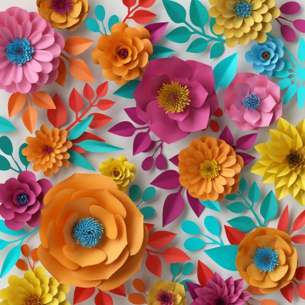 3d render digital illustration colorful paper flowers wallpaper picture id682769948?b=1&k=6&m=682769948&s=612x612&w=0&h=zdbxbeawc3ux6htgcaupab6a9d pj8dj6ctzjm vbw0=