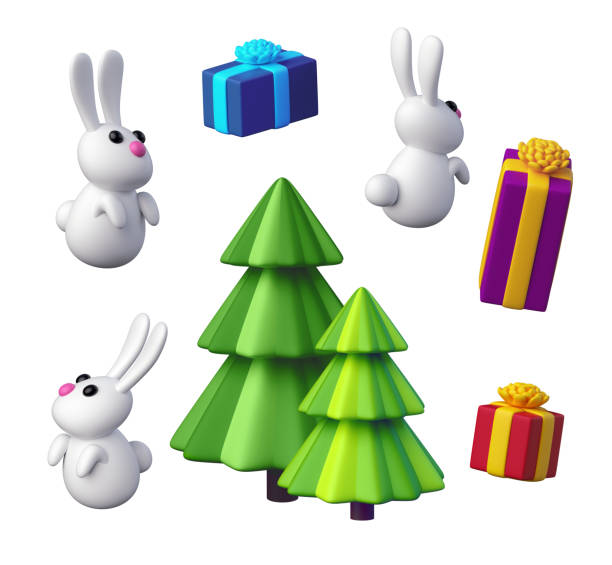 3d render digital illustration festive objects set christmas toys on picture id864911702?b=1&k=6&m=864911702&s=612x612&w=0&h= k6hyxj64bbnbnlhtjunpbotxqdu69 zaurq6ek6pv0=