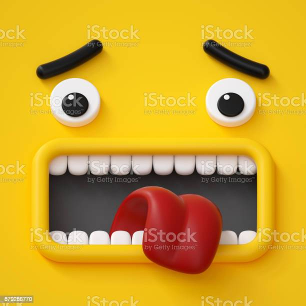 3d render emotional cartoon face emoticon scared emotion screaming picture id879286770?b=1&k=6&m=879286770&s=612x612&h=jsmac0bxk6ccsts 8kanj5zdzckbui1wm2isav8iwnm=