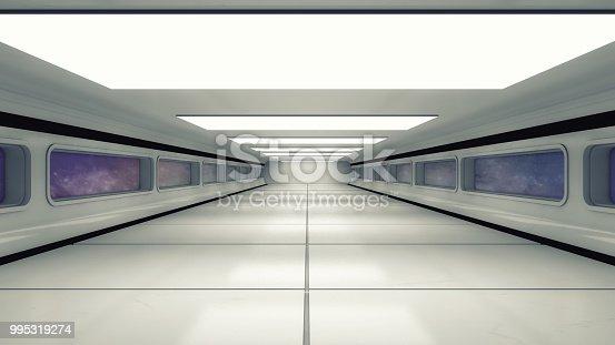 830306120 istock photo 3d Render. Futuristic interior design for movie or background 995319274