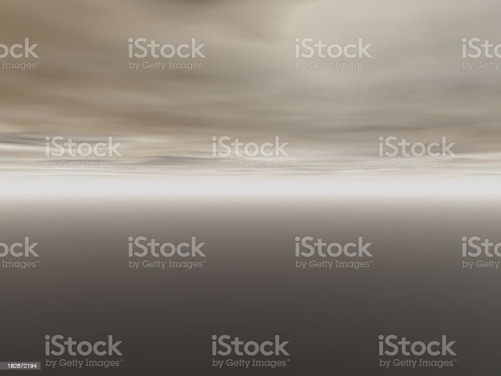 3d render - gloomy  abstract gradient royalty-free stock photo