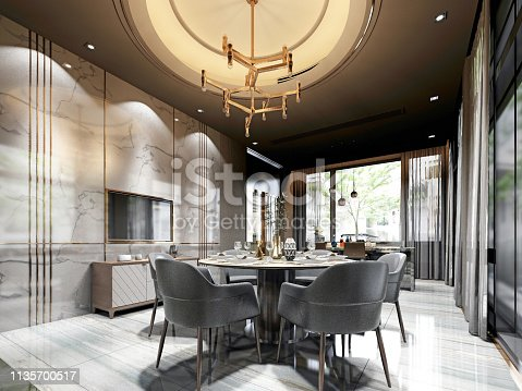 1095381860istockphoto 3d render modern living room 1135700517