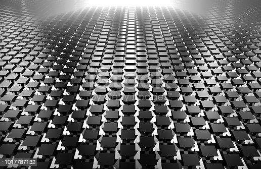 istock 3d render of abstract floor 1017787132