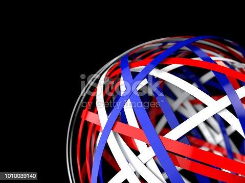 844330076istockphoto 3d render of colorful rings like sphere 1010039140