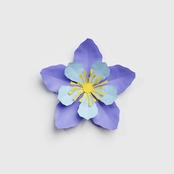3d render paper cut decor blue flower isolated botanical clip art picture id816259930?b=1&k=6&m=816259930&s=612x612&w=0&h=pb tczl7ng0dvh3hsyfhpolzjfk1evzmgz4youai8ii=