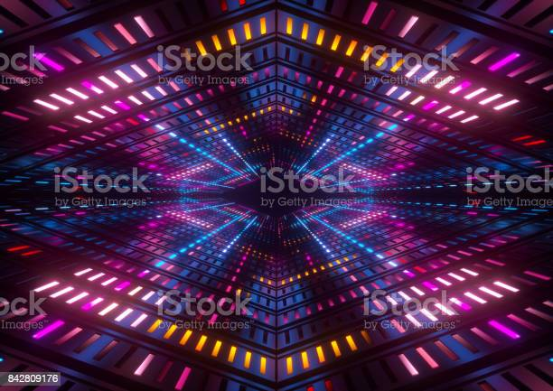 3d render pink blue yellow neon lights bright colorful tunnel picture id842809176?b=1&k=6&m=842809176&s=612x612&h=iaawceinthau0hbegavorsy7jtxulwfcibtn98hqfl8=
