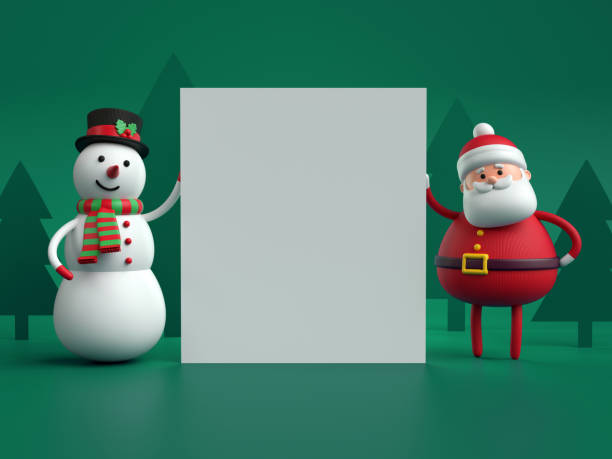 Best 3d Paper Christmas Party Invitation Template Stock
