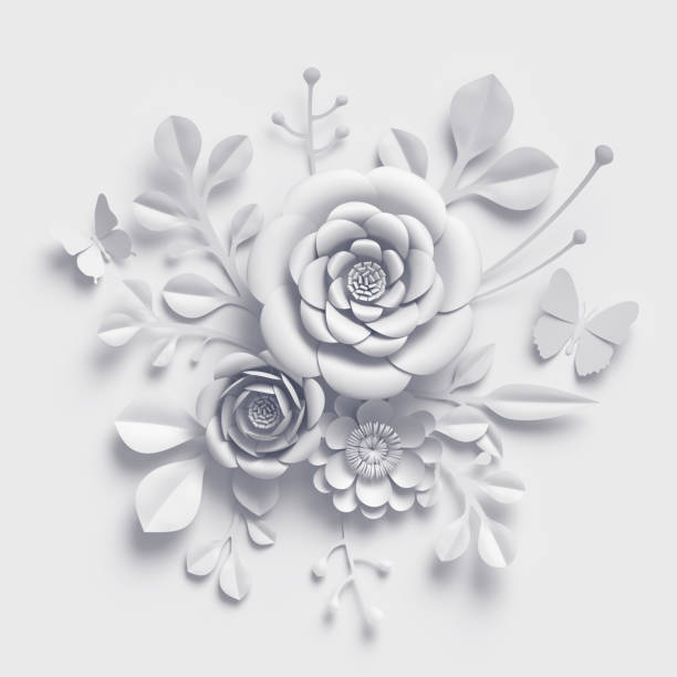 3d render white paper flowers floral bouquet botanical background picture id929213002?b=1&k=6&m=929213002&s=612x612&w=0&h=ehuqbpqkmzhjejlaj zerwkuremiw9m2hkovovgkglq=