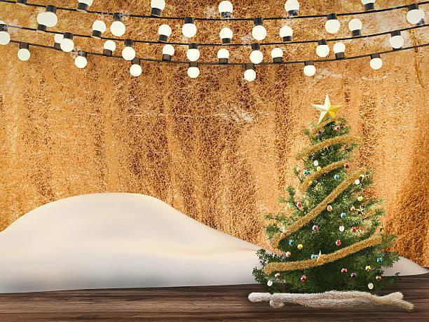 3 d aus weihnachtsdekoration - lichtschlauch stock-fotos und bilder