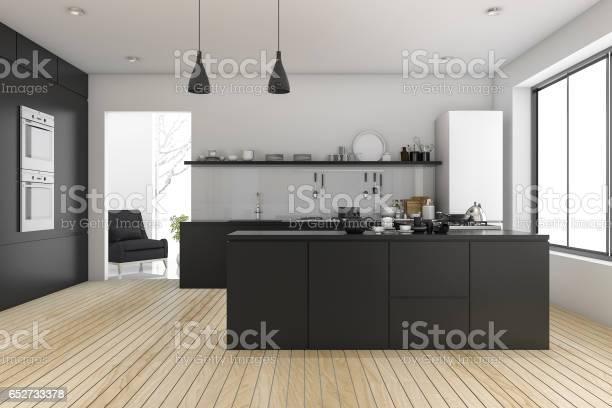 3d rendering black minimal kitchen near living room picture id652733378?b=1&k=6&m=652733378&s=612x612&h=oilvzlnzmvl2wfghbrtmelsvtkegg qsersqoobxbtg=