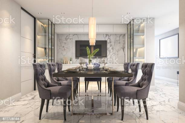 3d rendering blue dining set in modern luxury dining room near door picture id872728164?b=1&k=6&m=872728164&s=612x612&h=gww97haac vcwm qsn3qprovbx5jav1kfklfxbnze5a=