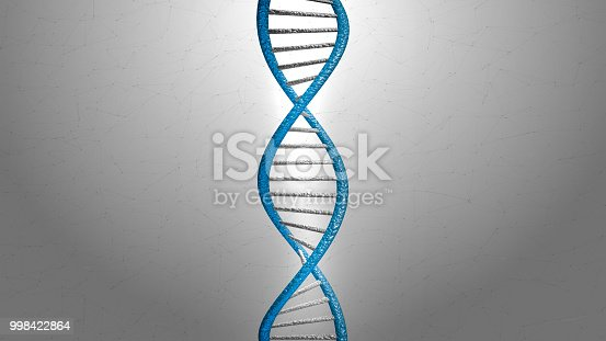 525225194 istock photo 3d rendering blue DNA structure abstract background 998422864