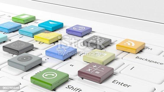 istock 3d rendering concept 960285638