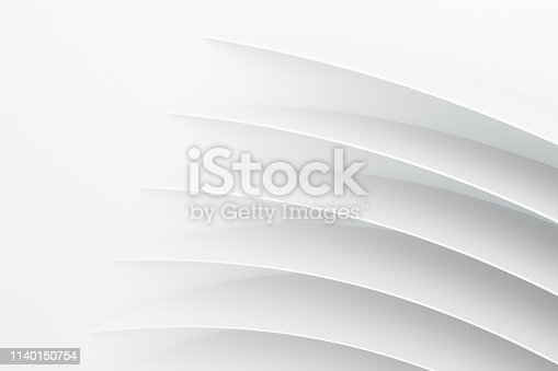 3d rendering, curve surface and texture background, computer digital background
