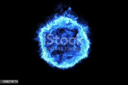 istock 3d rendering, Fireball, flaming fire 1039276774