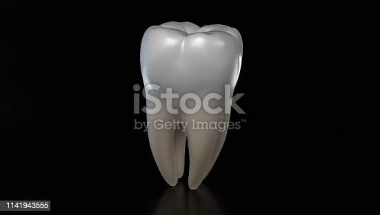 3d Rendering Human Tooth