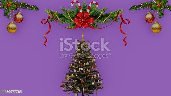 871072052 istock photo 3d rendering illustration of christmas 1189977785