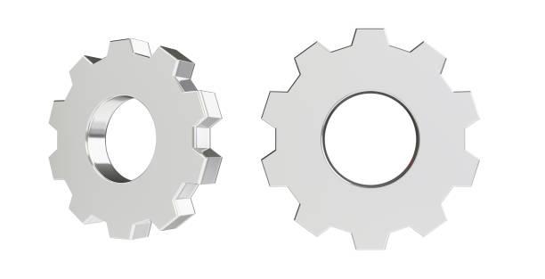 3D Rendering-Abbildung des Getriebes – Foto