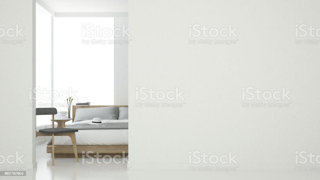 Photo de stock de d rendu intérieur chambre espace meubles et