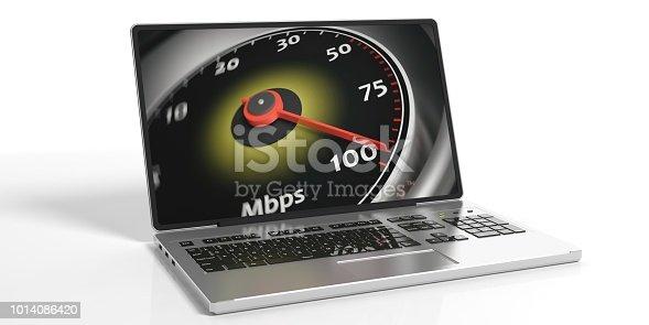 istock 3d rendering internet speed concept 1014086420