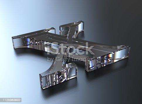 848178088istockphoto 3d rendering letter X 1125983602