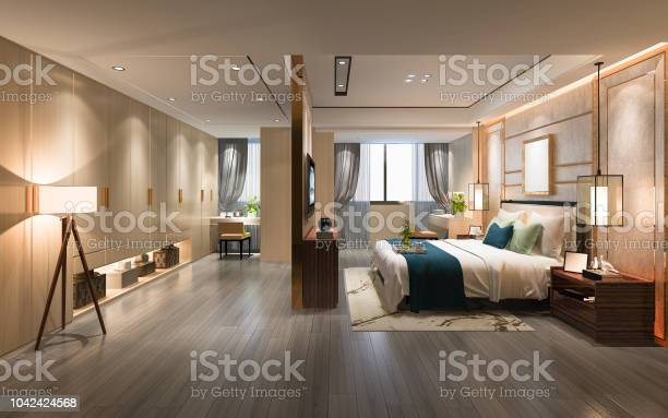 3d rendering luxury modern bedroom suite tv with wardrobe and walk in picture id1042424568?b=1&k=6&m=1042424568&s=612x612&h=kyvx2wvfpykly4b6w4djuazppovfb9b mdwojf5ht7o=