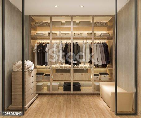 3d rendering interior and exterior design