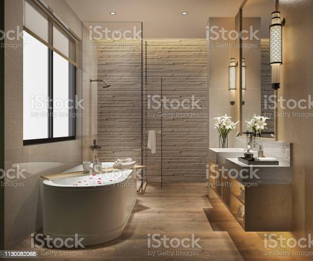 3d rendering modern bathroom with luxury tile decor picture id1130082068?b=1&k=6&m=1130082068&s=612x612&h=1bedixtas2 9a5abuson4p6j3xerqkejt3ehw7ajilc=