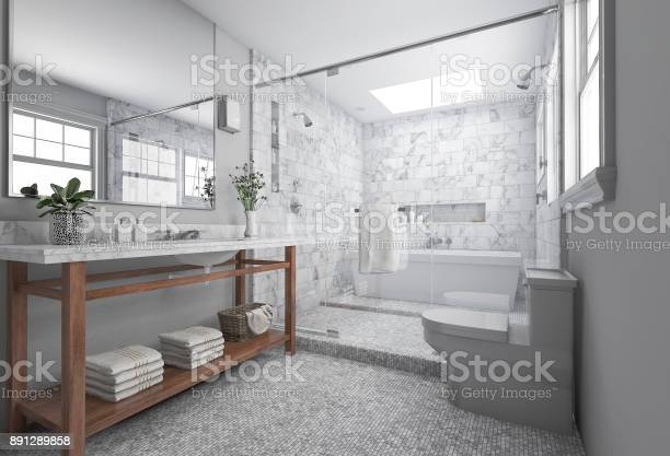 3d rendering modern minimal bathroom with scandinavian decor and nice picture id891289858?b=1&k=6&m=891289858&s=612x612&h=rxjetksl fzwx8kc6vrxsvzy8ourcmcqmx7ugr6ainy=