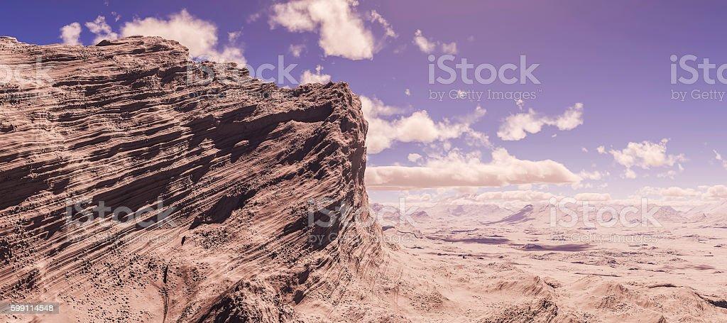 3d rendering mountain landscape03 stock photo