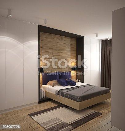 3d Rendering Of A Bedroom Interior Design Stockfoto En Meer Beelden