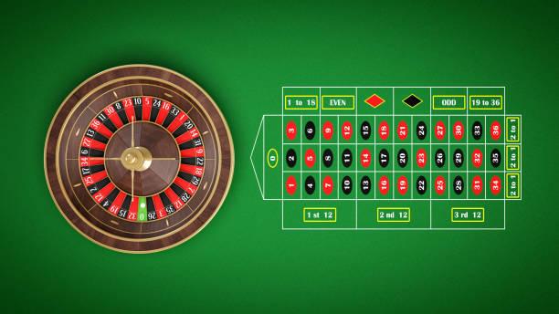 Roulette Tisch Bild