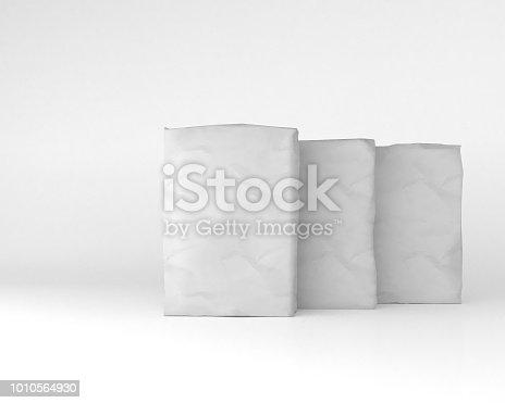 istock 3d rendering of a sacks 1010564930