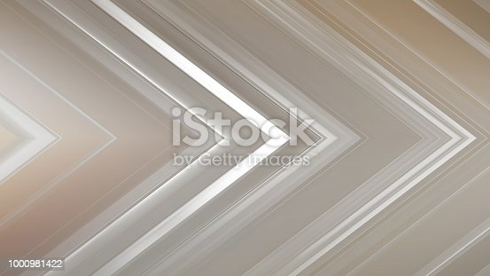 istock 3d rendering of an abstract angular composition consisting of panels and lines 1000981422
