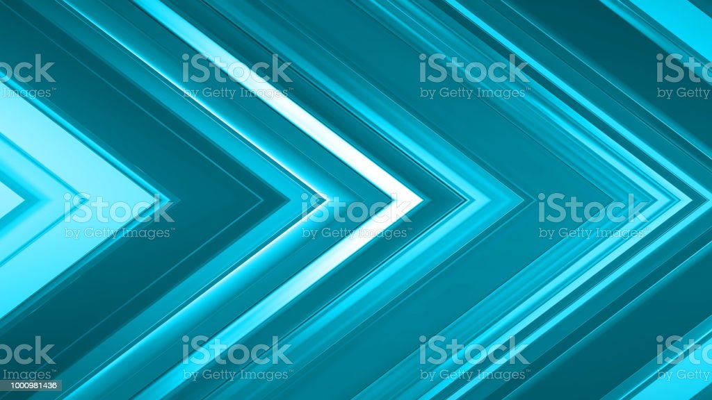 3d rendering of an abstract angular composition consisting of panels and lines stock photo