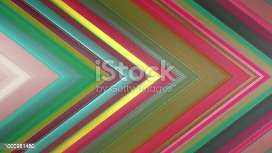 istock 3d rendering of an abstract angular composition consisting of panels and lines 1000981480