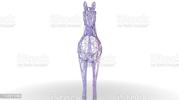 3d rendering of an artistic animal with reflection isolated on white picture id1143012263?b=1&k=6&m=1143012263&s=612x612&h=1ygcput1ngpy2zhzugpctpru3xxosytgxye3b394kku=