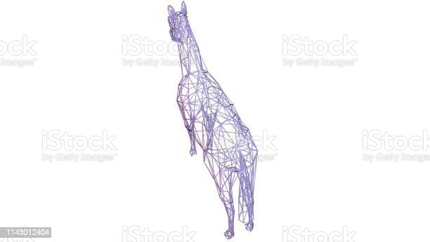 3d rendering of an artistic animal with reflection isolated on white picture id1143012404?b=1&k=6&m=1143012404&s=612x612&h=ccuxlau9ty tlea5mphex9aighj21n pgyacyoewxni=