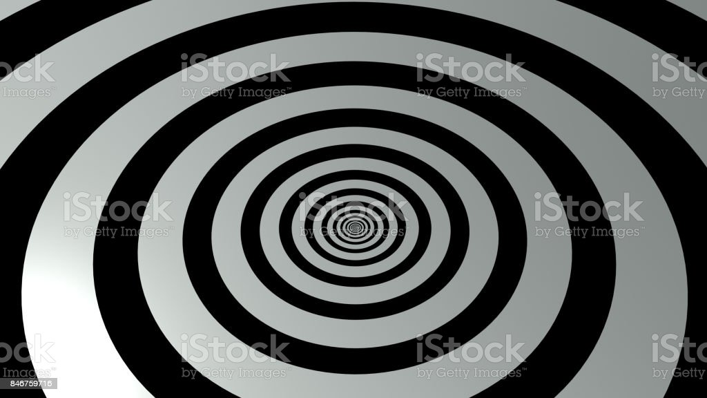 3d rendering of black and white abstract background stock photo
