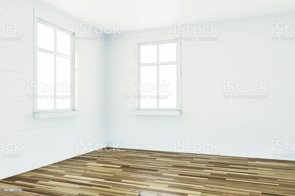 Colori Interni Grigio : Rendering 3d di vuota stanza bianca interni con colori grigio