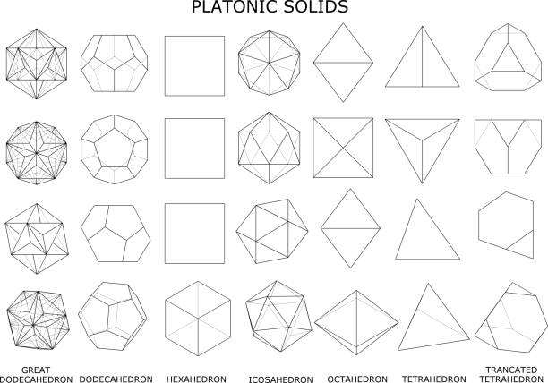 Royalty Free Platonic Solids Pictures, Images and Stock Photos - iStock
