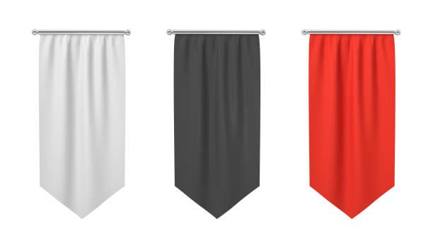 3d rendering of three rectangular black white and red flags hanging picture id1070641080?b=1&k=6&m=1070641080&s=612x612&w=0&h=r5kviprxsbm5g6fwaqxoto1 g8rajo4btvu1bsehpas=