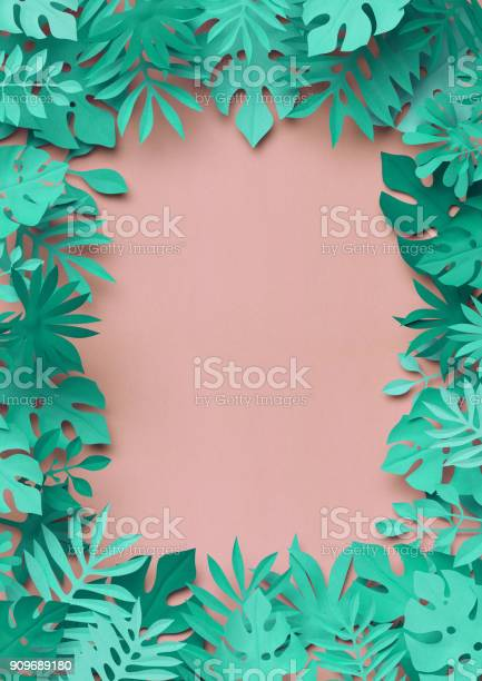 3d rendering paper art tropical palm leaves botanical background picture id909689180?b=1&k=6&m=909689180&s=612x612&h=jgoqgxgvrvrfviknlh9fkr gbodtdfssqfvzceqvrsk=