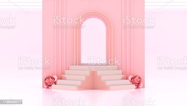 3d rendering pink gate and studio background with podiums steps and picture id1199430277?b=1&k=6&m=1199430277&s=612x612&h=4erjwujqo7q1sqxccbxolgjcbv6ha8bxbxcren3f55u=