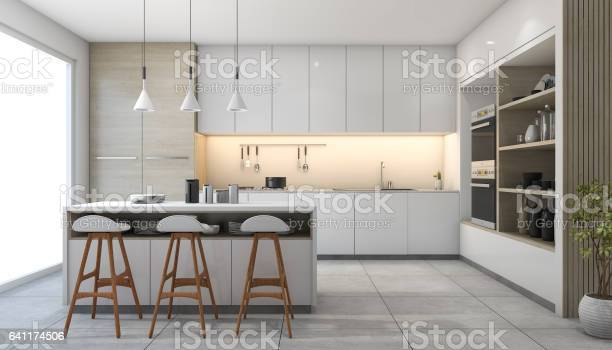 3d rendering white modern design kitchen with lamp picture id641174506?b=1&k=6&m=641174506&s=612x612&h=1iq itlfj37bpzvcylpxoc0yvnky5ycpveetmtg4xvi=