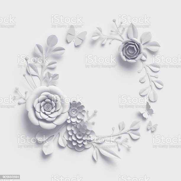 3d rendering white paper flowers background isolated botanical clip picture id909683594?b=1&k=6&m=909683594&s=612x612&h=3hqqpdob3gzcne 6lcbvd g3ztakf3vvmiilv hy 48=