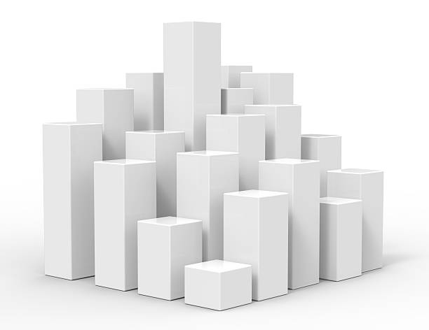 3d rising cubes Rising white blocks track starting block stock pictures, royalty-free photos & images