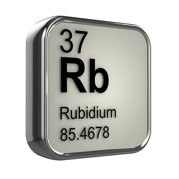 Royalty Free Rubidium Periodic Table Science Chemistry Pictures